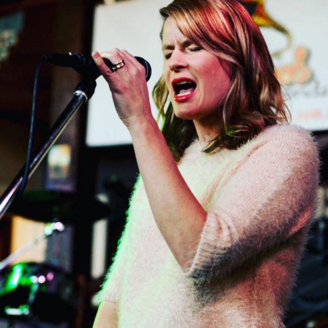 AnneMareehiggins showcasing her new songs at underfootrecords australianmusic australianlabel sydneymusicscene